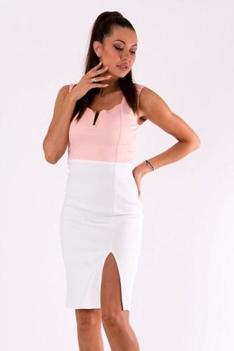 EMAMODA Dámské společenské šaty Emamoda Elegance světle růžové - růžová 91cb306a8d