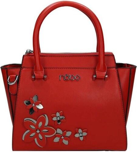 442cde46ff NOBO Červená dámská květinová kabelka do ruky Relnie - Glami.sk