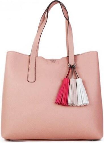 76b285c87aa2 Guess značkové luxusné kabelky cez plece ružové VY 695 423 rose ...