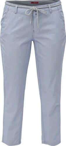 Světle modré dámské chino zkrácené kalhoty s.Oliver - Glami.cz 74a741ed36