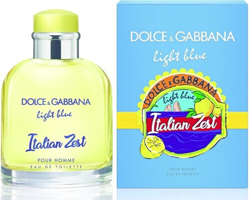 40d66f841 DOLCE GABBANA Light Blue Italian Zest Pour Homme pánská toaletní voda 75 ml