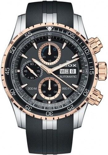 Edox Grand Ocean Chronograph Automatic 01123357RCANBUR - Glami.cz af8b22d713