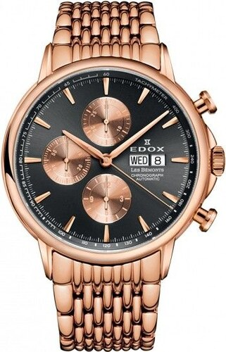 Edox Les Bémonts Chronograph Automatic 01120 37RM GIR - Glami.cz 1acdf1f95d