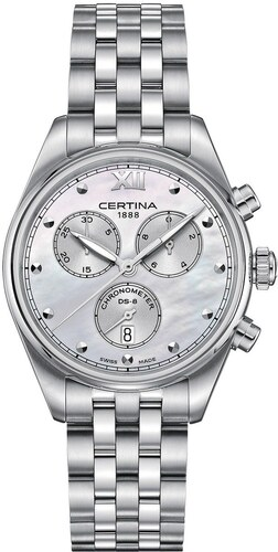 Certina DS-8 Lady Chronograph C033.234.11.118.00 - Glami.cz 7e9a7f1f932