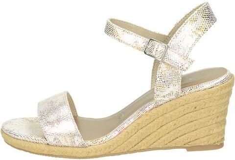 19fbf6dff757 Tamaris dámske štýlové sandále na klinovej podrážke - ružové - Glami.sk