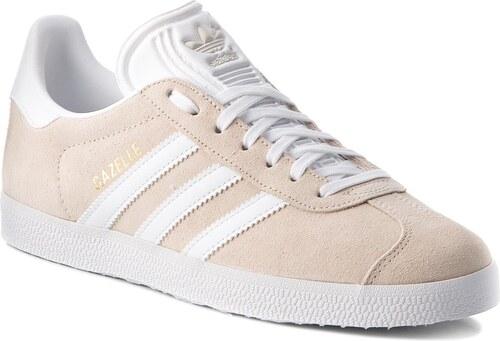Cipő adidas - Gazelle B41646 Linen Ftwwht Ftwwht - Glami.hu 0978ad118f