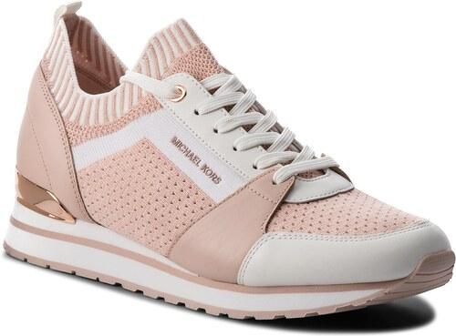 549487b2ab Sneakersy MICHAEL MICHAEL KORS - Billie Knit Trainer 43T8BIFS1D Soft Pink