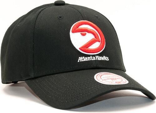 best sneakers 5a2fc 44d4e -35% Kšiltovka Mitchell   Ness Team Logo Low Pro Atlanta Hawks Black  Snapback