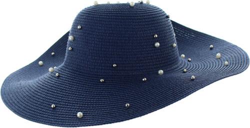 b664f2a6c ChicChic Tmavomodrý klobúk Pearl - Glami.sk