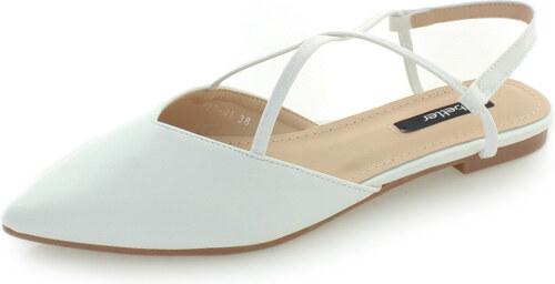 9543ada9b Vices Biele balerínky Fiorello - Glami.sk