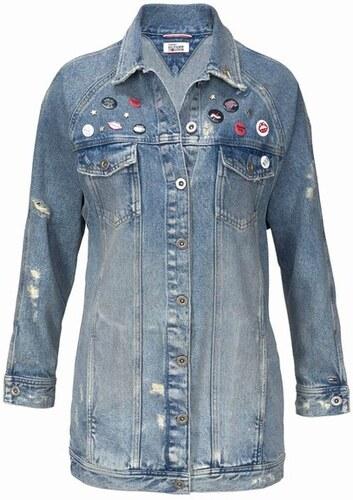 7dfbd78ee0 Dlhá džínsova bunda TOMMY HILFIGER DENIM - Glami.sk
