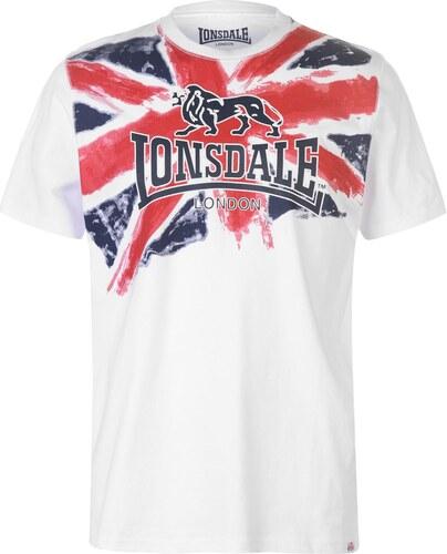 08fe90e80e65 Tričko Lonsdale LDN Chest T Shirt Mens - Glami.sk