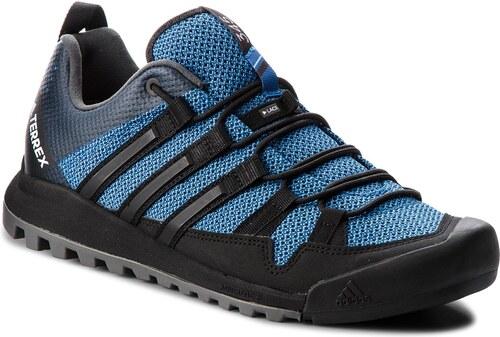 7a57855dee5e Boty adidas - Terrex Solo AC7885 Blubea Cblack Legink - Glami.cz