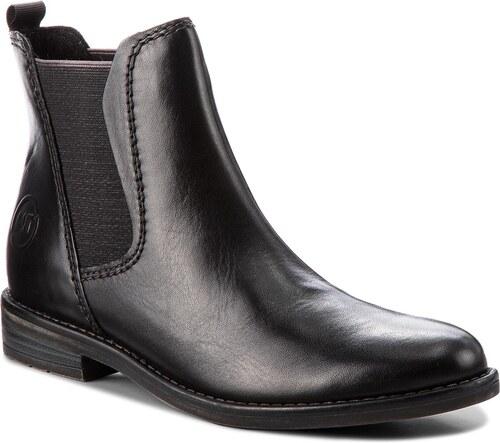 489b2bc18ef Kotníková obuv s elastickým prvkem MARCO TOZZI - 2-25366-31 Black Antic 002