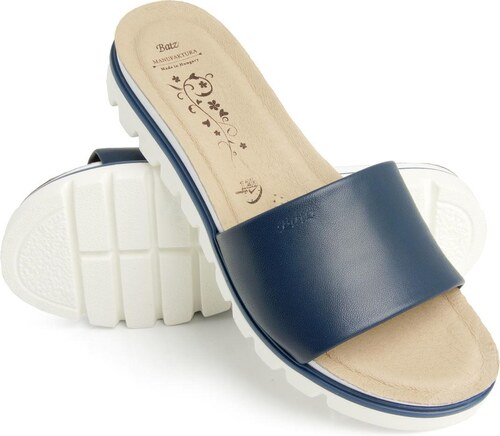 0fd4160201d6 Batz dámske zdravotné šľapky Tessa Blue 41 - Glami.sk