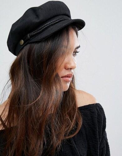 17a461539 Brixton Baker Boy Hat in Black - Black - Glami.sk
