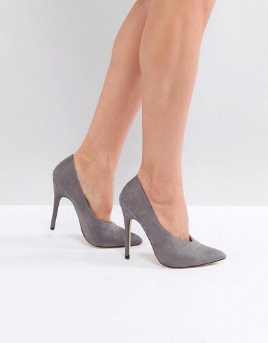 cfa8271a5e London Rebel Pointed High Heels - Grey - Glami.sk