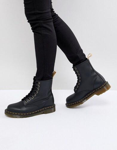 b35e4fdb741 Dr Martens Lace Up 8 Eye Boot - Black felix rub off - Glami.cz