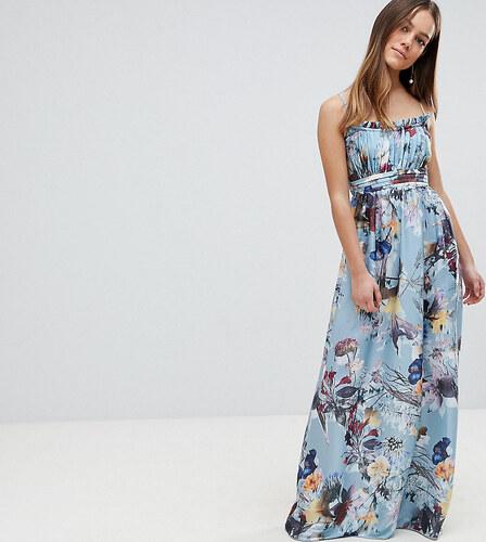 01fe70ae19c0 Little Mistress Petite Maxi Dress In Floral Print - Multi - Glami.cz