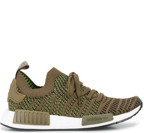 watch 4bb6a 5d8be -53% Adidas Adidas Originals NMDR1 STLT Primeknit sneakers - Green