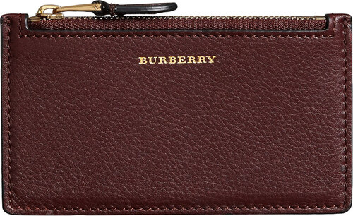 Burberry Two-tone Leather Zip Card Case - Red - Glami.sk a78d7961898