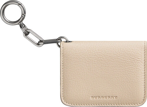 Burberry Link Detail Leather ID Card Case Charm - Neutrals - Glami.sk 223047f1edd