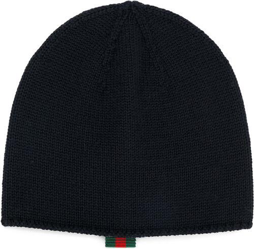 Gucci Kids classic knitted beanie hat - Blue - Glami.sk f9338532922a