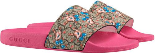 76202ca729125a Gucci Kids Children s GG fawns slides - Multicolour - Glami.sk