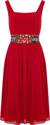 e698f06e9830 COLLECTIF Dámské retro šaty Bright červené - Glami.cz
