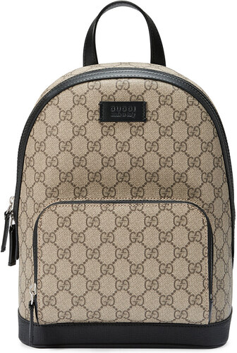 988851dbfb Gucci GG Supreme small backpack - Brown - Glami.cz