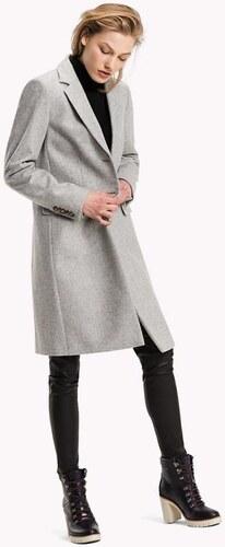 Tommy Hilfiger dámský šedý kabát Carrie - Glami.cz 23d678e4142