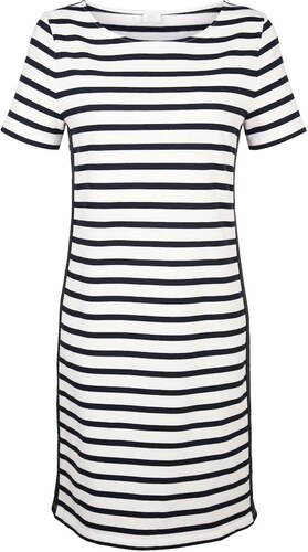 62ce926e80c1 Jersey šaty Alba Moda Biela Námornícka - Glami.sk