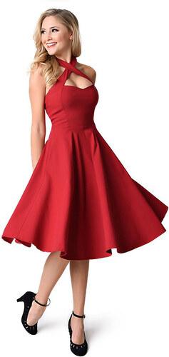 Dámské společenské šaty Garide červené - červená b87e895a6a