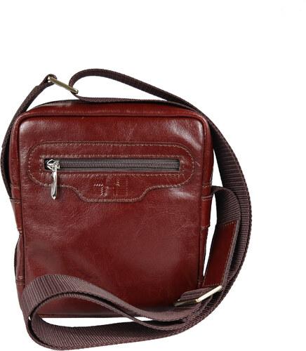 HOFFEbelts kožená taška cez rameno Cross S-2 - Glami.sk cef8182cb2d