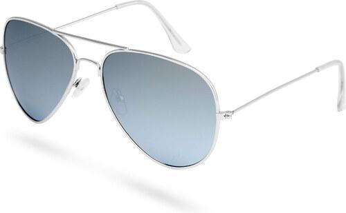 Paul Riley Ezüstszínű keretes pilóta napszemüveg tükrözött és polarizált  lencsékkel 3971756477