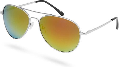 Paul Riley Aviator strieborno-červené okuliare - Glami.sk 7036d7ffba9