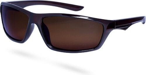 Paul Riley Úzke hnedé polarizačné okuliare - Glami.sk 492a446441b
