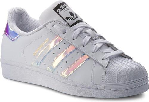 1f618166e5 Cipő adidas - Superstar J AQ6278 Ftwwht/Ftwwht/Metsil - Glami.hu