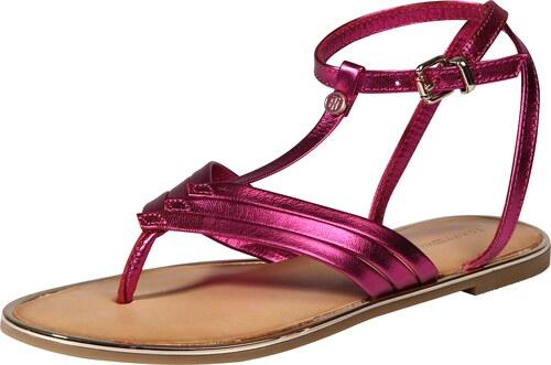 57284691f2 TOMMY HILFIGER Remienkové sandále Ružová - Glami.sk
