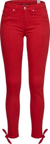 TOMMY HILFIGER Kalhoty červená - Glami.cz 249c1a447d