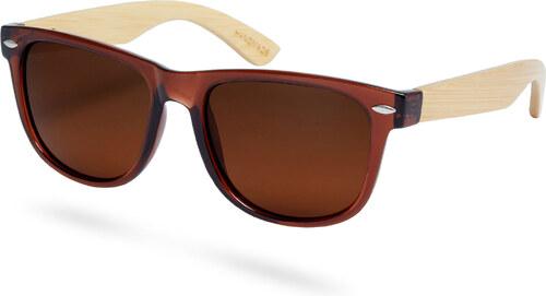 Paul Riley Hnedé bambusové polarizačné slnečné okuliare - Glami.sk 21a3f7e43d0