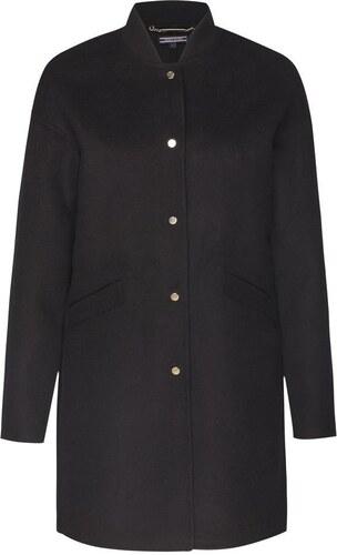 TOMMY HILFIGER Přechodný kabát  CARMEN DF WOOL BOMBER COAT  černá ... adf34af2423