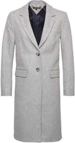 TOMMY HILFIGER Zimní kabát  CARRIE CLASSIC WOOL COAT  světle šedá ... 853b210c317