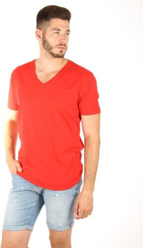 Tommy Hilfiger pánské červené tričko - Glami.sk 195f78096bc
