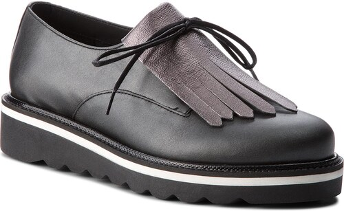 TOMMY HILFIGER Pearlized Leather Lace Up Shoe FW0FW02937 - Glami.cz dfed9cabcd