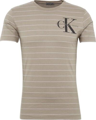 cefe0a59b718 Calvin Klein Jeans Tričko  TRONIC SLIM TRUE CN TEE SS  barvy bláta   černá