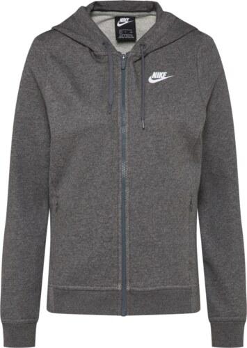 34c39cae578 Nike Sportswear Mikina s kapucí tmavě šedá - Glami.cz