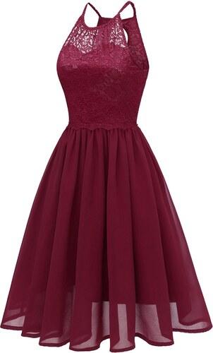 4936ce6f833 Dámské společenské šaty Haleria červené - červená - Glami.cz