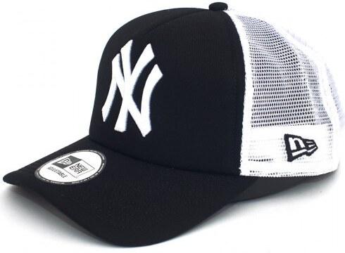 New Era - New York Yankees Clean Black White Trucker Sapka - Glami.hu 982f5a1dee