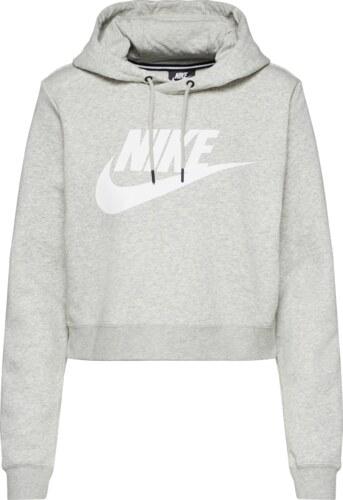 9d9c0e4218b Nike Sportswear Mikina šedá - Glami.cz